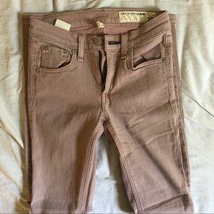 rag & bone muted pink jeans!